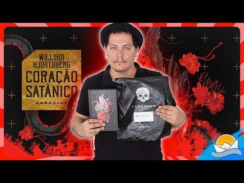 CORAÇÃO SATÂNICO + UNBOXING LEGIÃO | Darkside Books