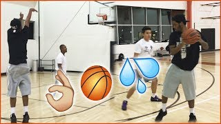 1v1 BASKETBALL AGAINST TRASH TALKERS! | Daily Dose S2Ep287