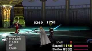 FFVIII Final Battle + ENDING {HD} (GF Summons Showcase & Spells) {Long Battle} HQ