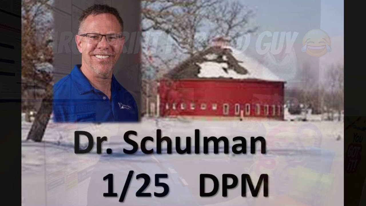 Happy Birthday Dr. Schulman