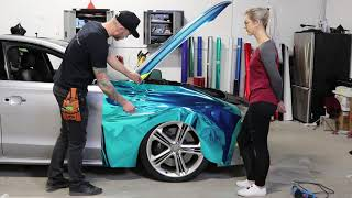 How-To Chrome Vinyl Wrap | With details and corners!