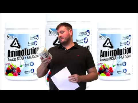 Body Nutrition Aminolution 30 Servings