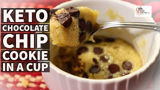 easy peanut butter chocolate chip mug cake