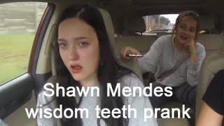 Shawn Mendes wisdom teeth prank