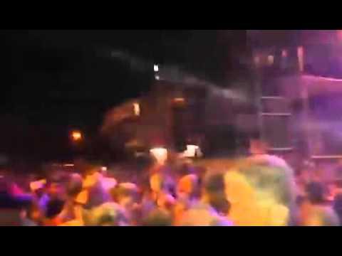 Caminhão do Nilo agitando o carnaval em Banabuiú