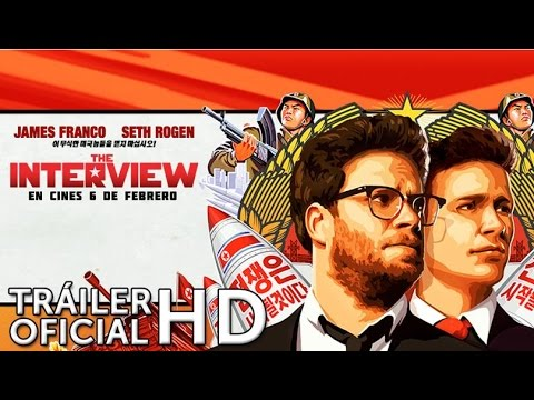THE INTERVIEW. Teaser Tráiler. Ya en cines.
