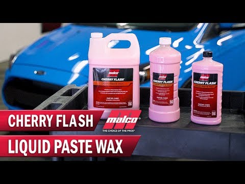How to Wax a Car Easily with Cherry Flash Wax