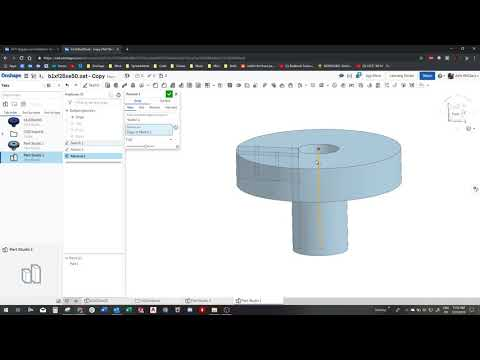Can this component be created using OnShape? — Onshape