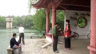 preview picture of video 'Zi Xia (Purple Clouds) Lake.  Zi Shan (Purple Mountain), Nanjing, China.'