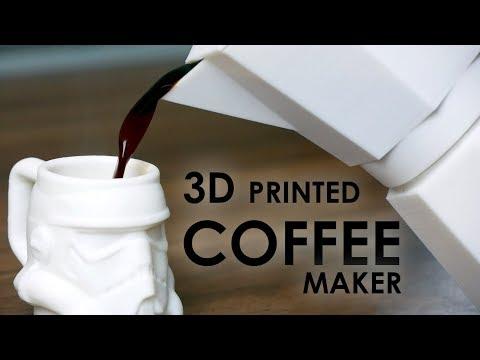 3D PRINTED Moka Pot - Brewing real coffee with Formfutura Volcano PLA