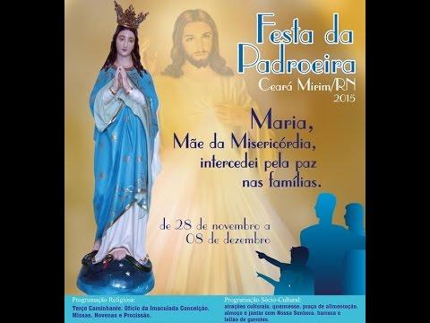 7ª Noite de Novena - Festa de Nossa Senhora da Conceição - Ceará-Mirim/RN