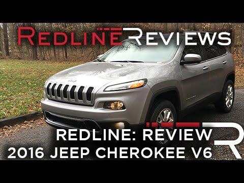 2016 Jeep Cherokee V6 - Redline: Review