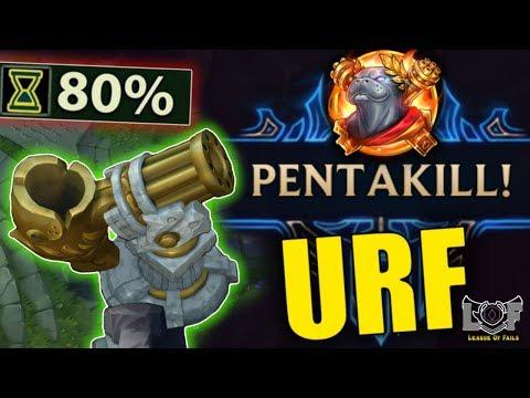 URF Pentakill Montage 2020 - ARURF League of Legends (Braum, Blitzcrank, Aphelios, Zed)