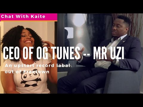 "Chat with Katie -- interview with Uzoma ""Mr. Uzi"" Ogbuagu, the founder of OG Tunes"