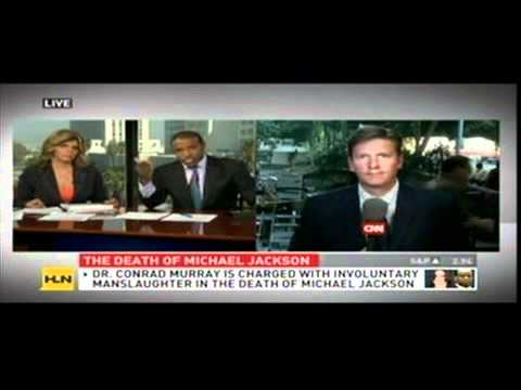 Dan Conaway on HLN discussing Michael Jackson's death and the Conrad Murray trial on 9/29/11