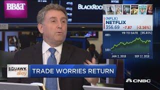 Trade war worries send stocks lower