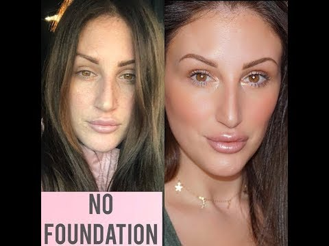 NO FOUNDATION NATURAL EVERYDAY MAKEUP TUTORIAL