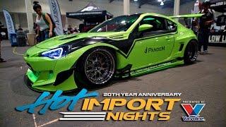 Hot Import Nights San Diego 2017 in 4K