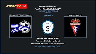 R.F.F.M. - TERCERA DIVISIÓN NACIONAL - PERMANENCIA - Jornada 5 - F.C. Villanueva del Pardillo 1-0 Real Aranjuez C.F.