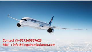 Hire the Most Affordable Cost Air Ambulance from Gorakhpur and Varanasi