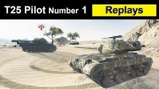 T25 Pilot Number 1 - Хороший бой, больше 5к дамага, 7 фрагов, много опыта  и 3 отметки