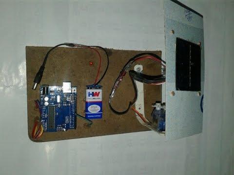 Solar Tracking System using Arduino Uno and Servo motor ...