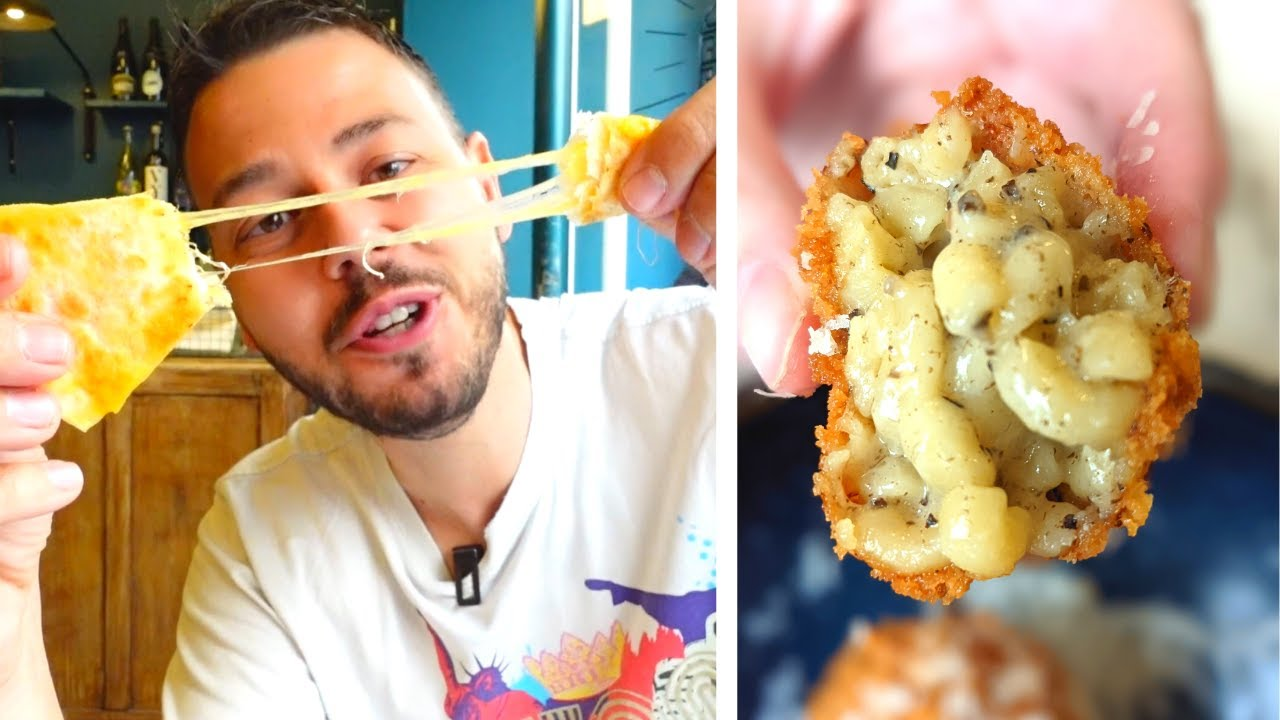 Je squatte ce resto : GRILLED CHEESE, QUESADILLAS, Mac & Cheese Balls, ... - VLOG 1154