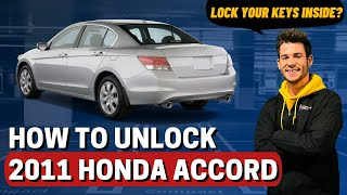 How To Unlock 2011 Honda Accord