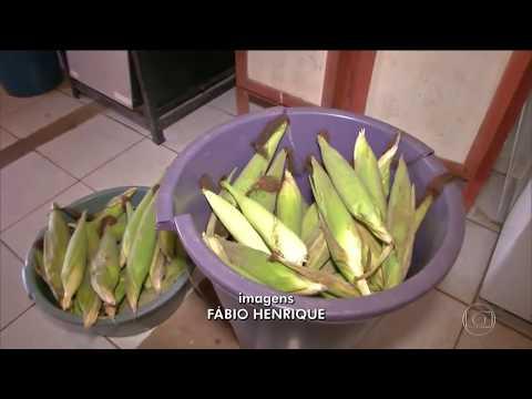 Alunos do interior do Maranhão comem diariamente apenas meia espiga de milho na merenda