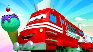 Vláčky pro děti - Zmrzlinářský vlak