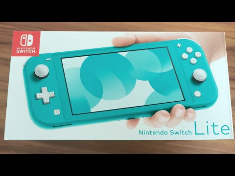 Nintendo Switch Lite unboxing and first impressions