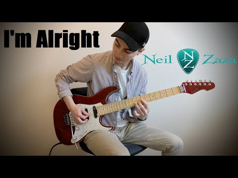 Neil Zaza - I'm Alright/The National Anthem (ESP LTD Elite ST-1)