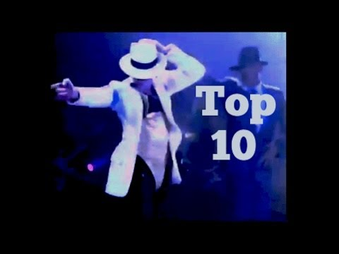 Top 10 Dance Moves by Michael Jackson