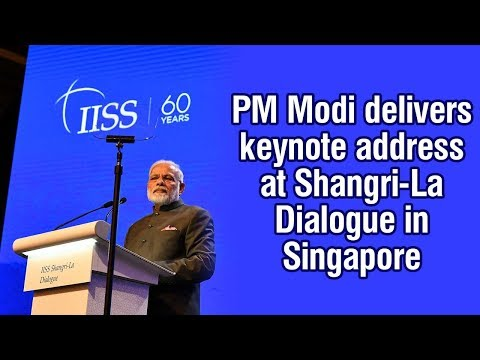 PM Modi to deliver keynote address at Shangri-La Dialouge in Singapore