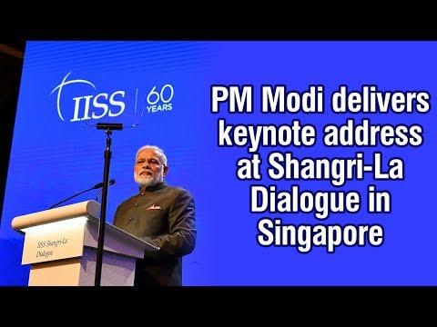 PM Modi to deliver keynote address at Shangri-La Dialouge in Singapore