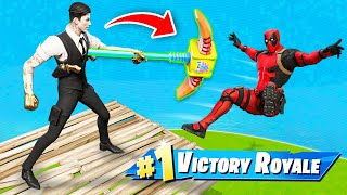 The *PICKAXE* ONLY Challenge in Fortnite!