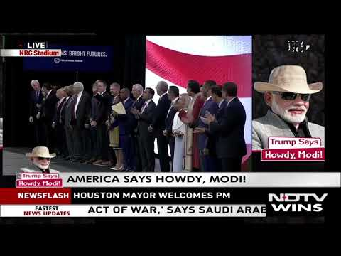 "Sen. Cruz Delivers Remarks at ""Howdy, Modi"" Event in Houston"