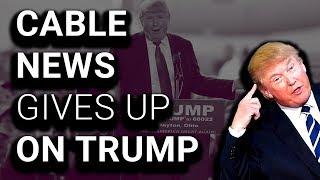 Networks Bail on Bizarre, Garbled Trump Speech/Rant