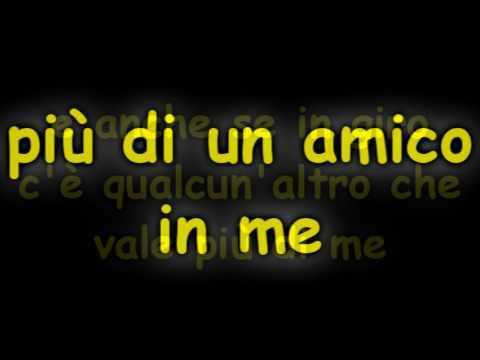 , title : 'Hai Un Amico In Me - Riccardo Cocciante (Testo) [Sigla Toy Story]'