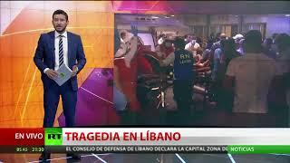 EXPLOSIÓN EN BEIRUT CAUSA DESTRUCCIÓN Y MUERTE