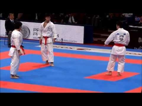 Team Kata + Bunkai UNSU by JAPAN - FINAL 21st WKF World Karate Championships