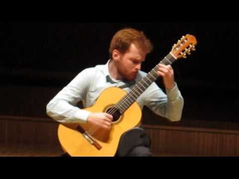 Marko Topchii; 1st Prize, Lausanne (Switzerland) Int. Guitar competition Pellegrini; Final Concert