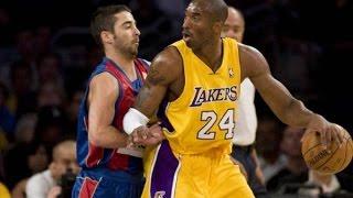 Kobe Bryant Highlights vs FC Barcelona (26 pts 6 steals) October 18 2008