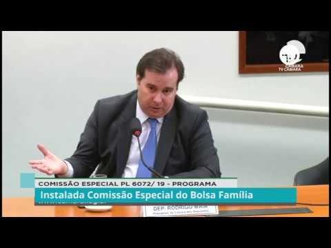 Instalada Comissão Especial do Bolsa Família - 17/12/19