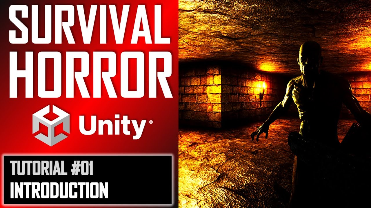 How To Make A Survival Horror Game - Unity Tutorial 001 - BEGINNERS INTRODUCTION