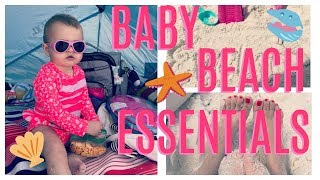 ⛱ Baby Beach Essentials 🏝 Tips and Hacks For a Great Vacation