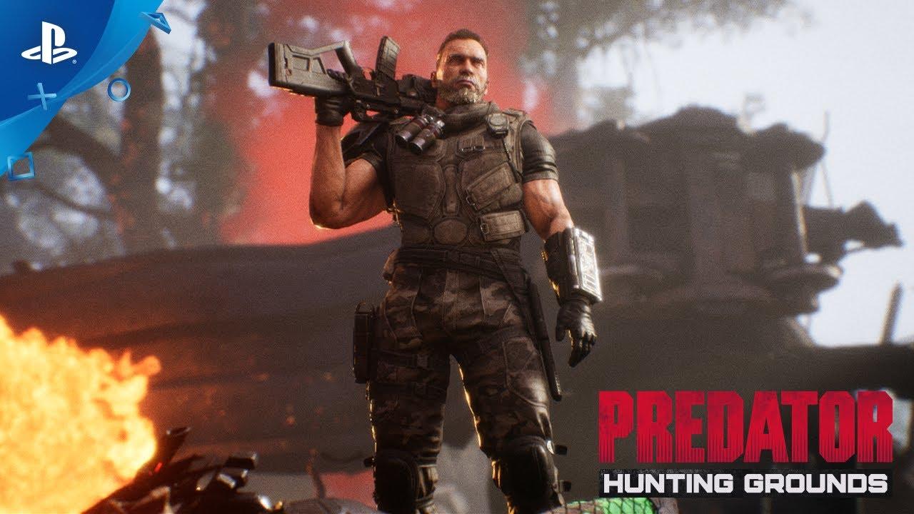 本日より『Predator: Hunting Grounds』無料アップデート配信&DLC発売! 映画の主人公ダッチがついに参戦!