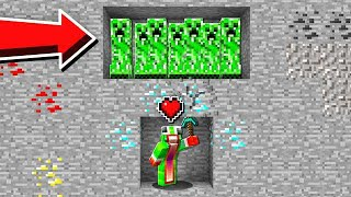BEATING MINECRAFT WITH ONE HEART!