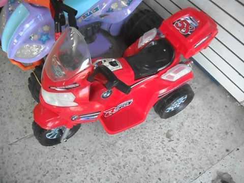 moto electrica recargable para niños bmw 2013 tr 2688