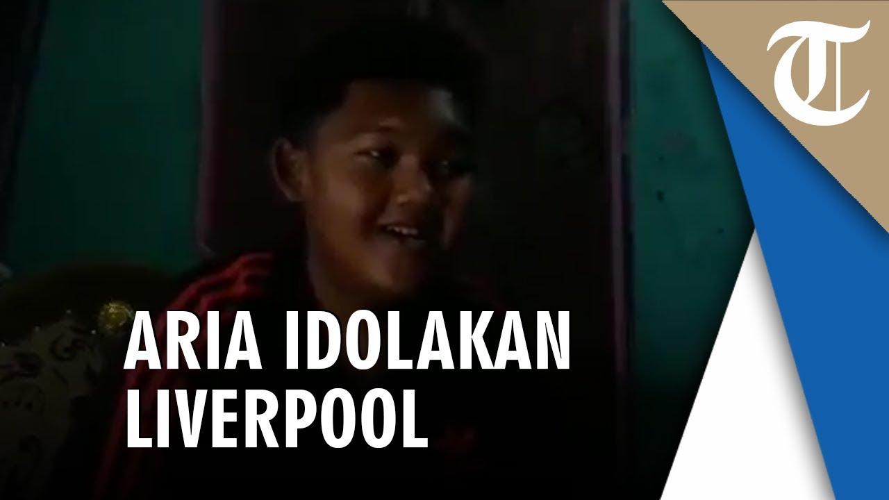 Cerita Aria Permana Yang Idolakan Liverpool dan Persib Bandung